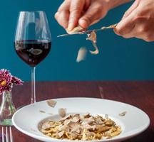 Eataly nyc shaved truffles pasta