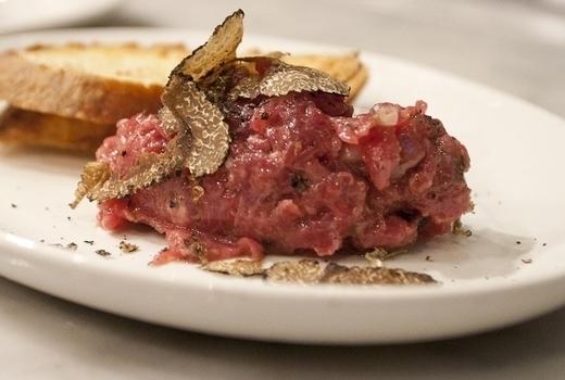 Eataly truffle fest beef tartare