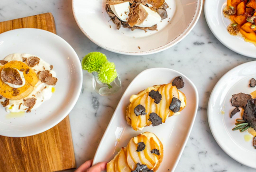 Eataly truffle fest spread