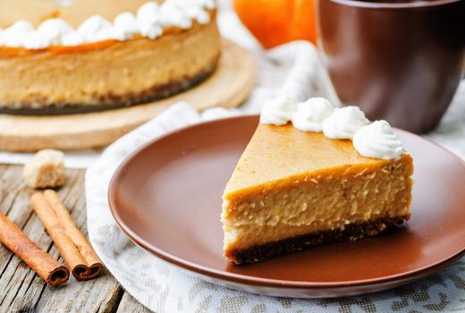 Bazar thanksgiving pumpkin cheesecake