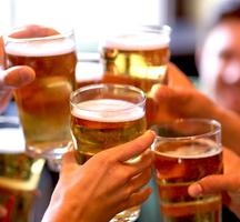 Shabu garden cheers beers