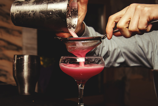 Great point yacht nye 2019 drink pour