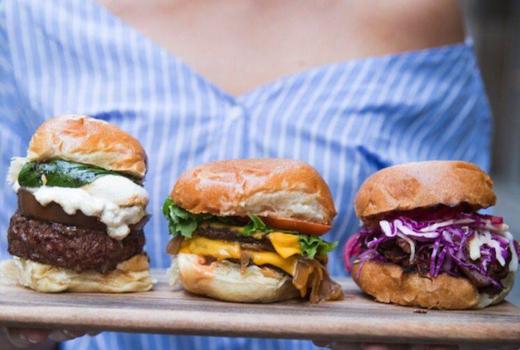 Ainsworth social burgers lineup