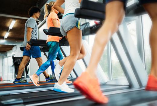 Fitness passbook running