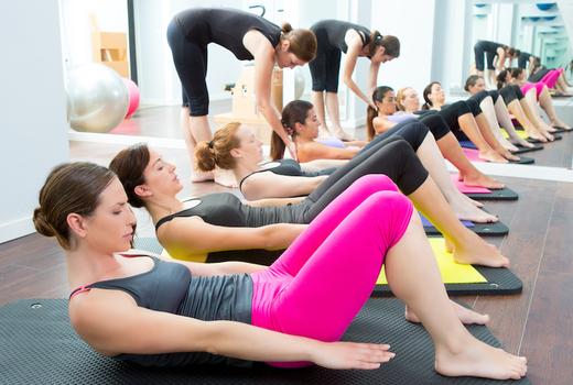 Fitness passbook pilates mat