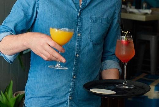 Tara rose brunch drinks mimosa