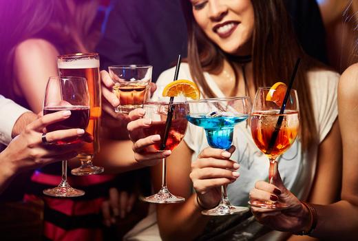 Kimoto nye cheers drinks
