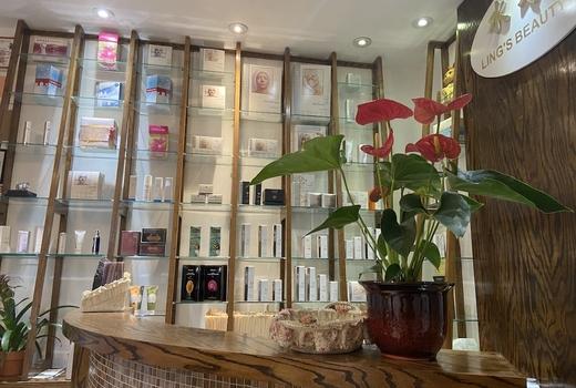 Lings beauty spa inside