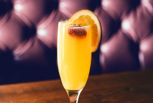 Kaskade mimosa brunch