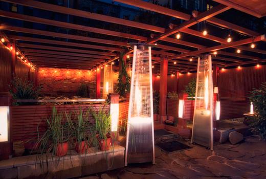 Kaskade exterior heated garden