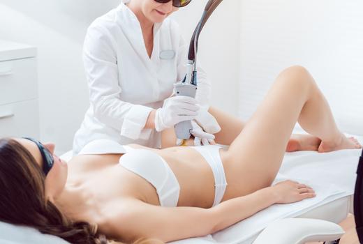 Sante laser treatment