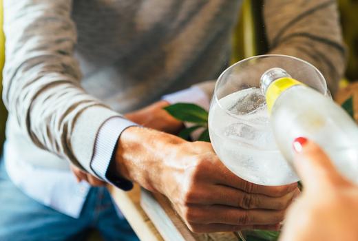 Jj kinahans gin tonic