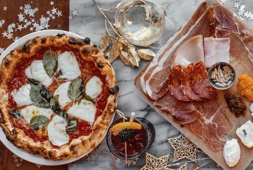 Eataly nye 2019 festive pizza