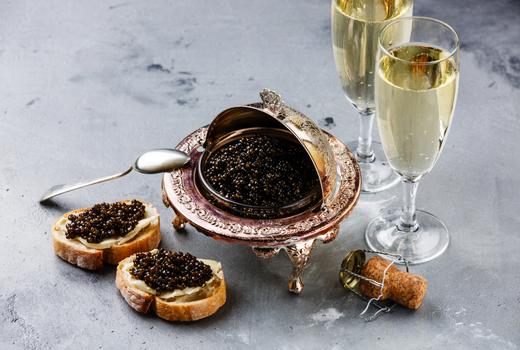 Eataly nye 2019 caviar bubbly