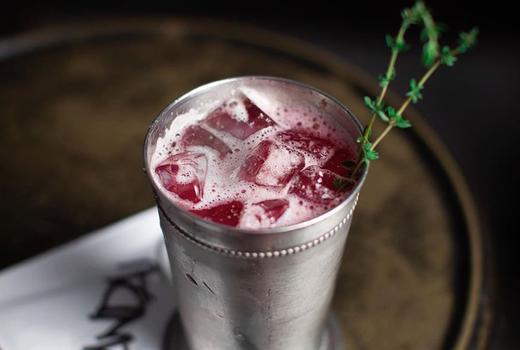 Vandal raspberry cocktail