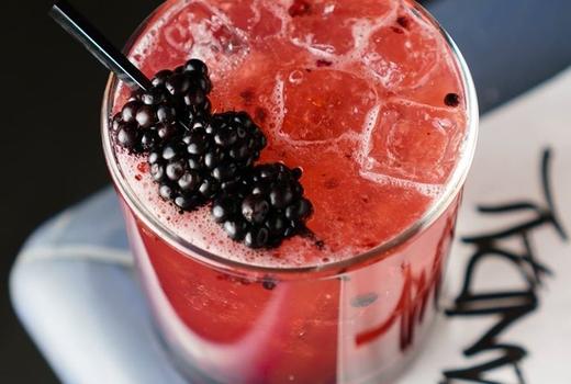 Vandal blackberry cocktail