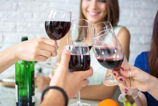 Cassoulet cookoff wine cheers
