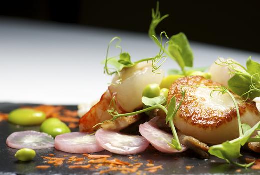 Aquarius scallops eats seafood