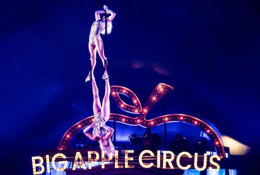 Big apple circus aerial straps
