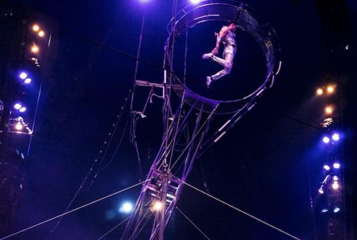 Big apple circus wheel of death