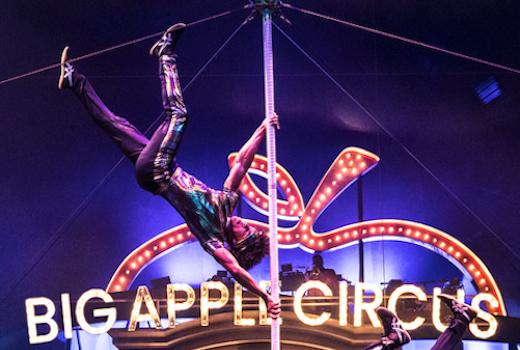 Big apple circus strong