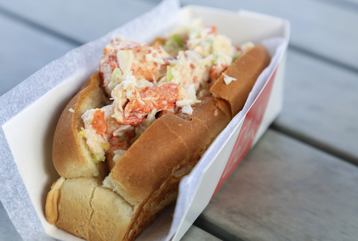 Jersey city whiskey festival lobster roll