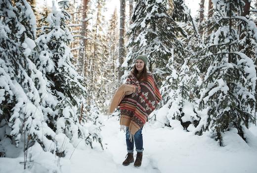 Diamond mills snow blanket