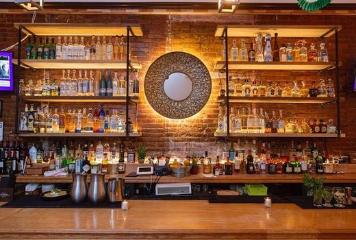 Orazon de mexico inside bar