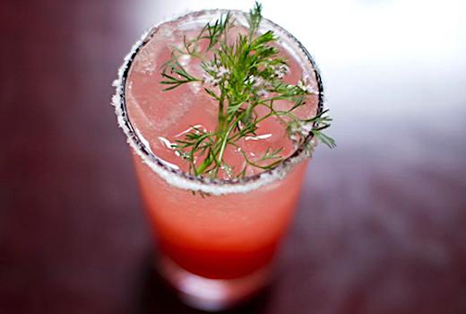 Orazon de mexico cocktail pink