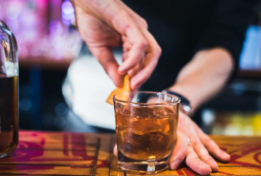 Village lantern super bowl drinks cocktails