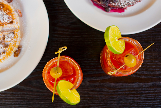 Galli brunch bloody marys food drinks