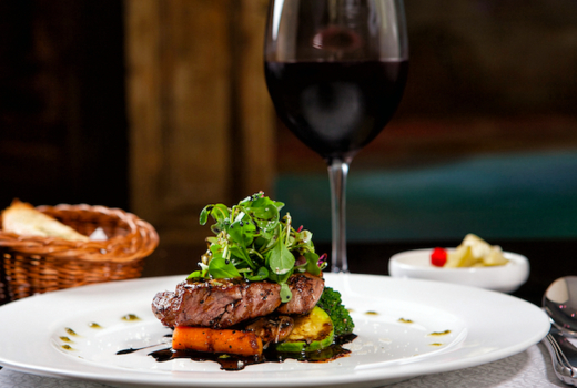 Cara mia steak wine love