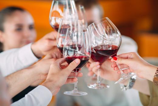 Brooklyn wine festival cheers red