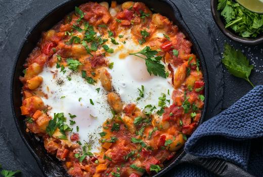 Tito murphys brunch eggs salsa skillet