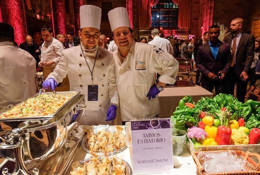 Grand gourmet chefs