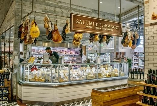 Eataly winter fest cheese market salumi