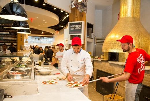 Pizza rossopomodoro pizzaioli