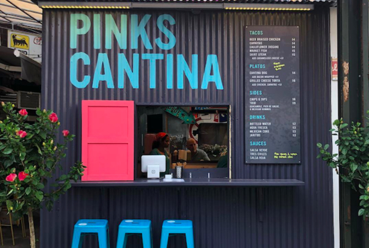 Pinks cantina outside