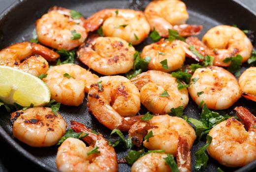 Pinks cantina shrimp