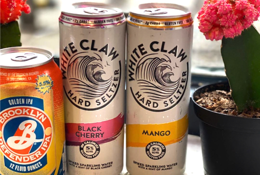 Pinks cantina white claw