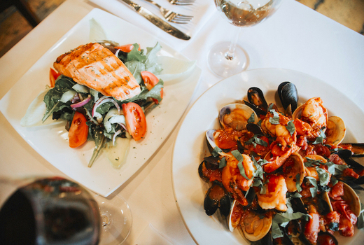 Caffe napoli mussels fish