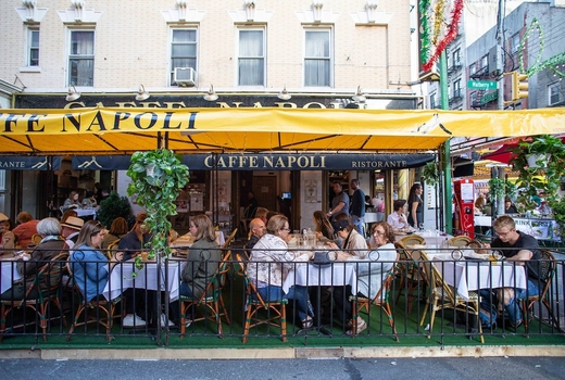 Caffe napoli outside wow