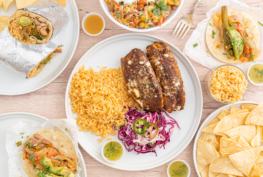 Pinks cantina to go spread