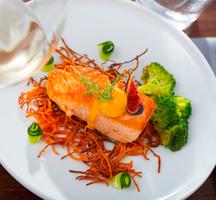 Essex restaurant salmon