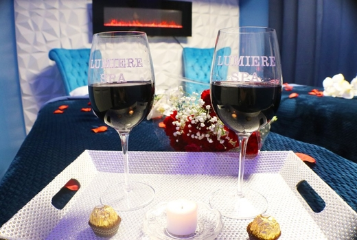 Lumiere spa wines cheers