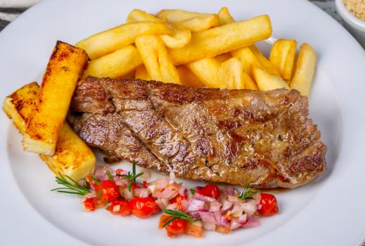 Le souk steak frites brunch