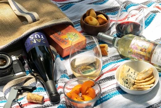 Martha stewart wine co outdoor picnic
