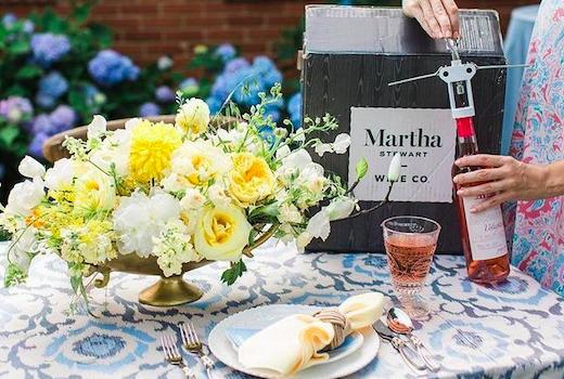 Martha stewart wine co garden party