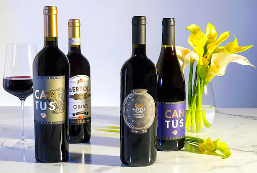 Martha stewart wine co bottles lineup