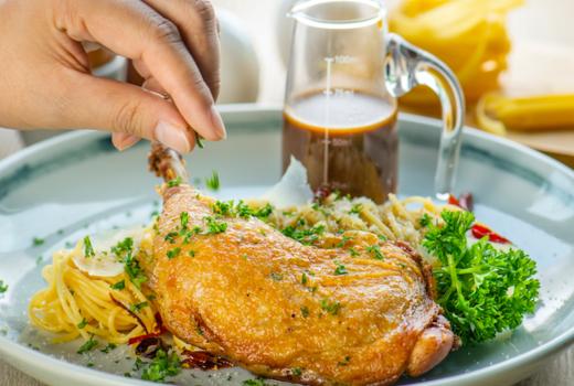 Segreta chicken milanese